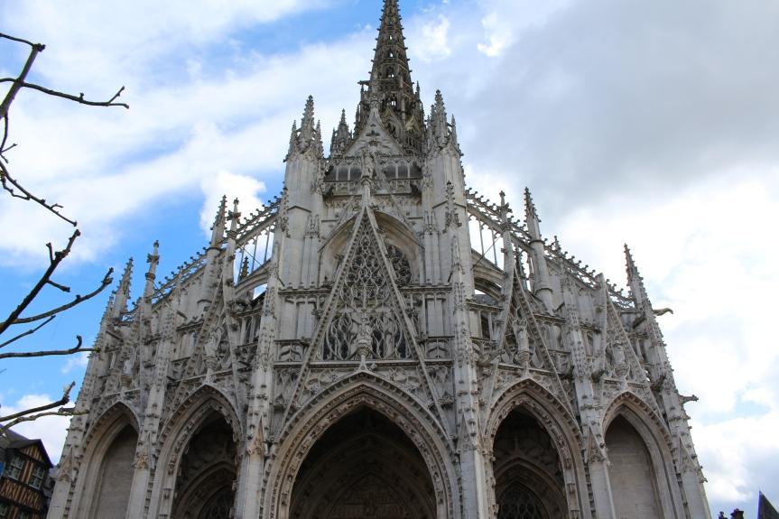 L'Eglise et l'Aitre de Saint Maclou –Rouen