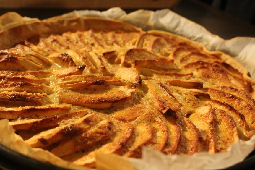 Recette – Tarte aux pommes àl'ancienne