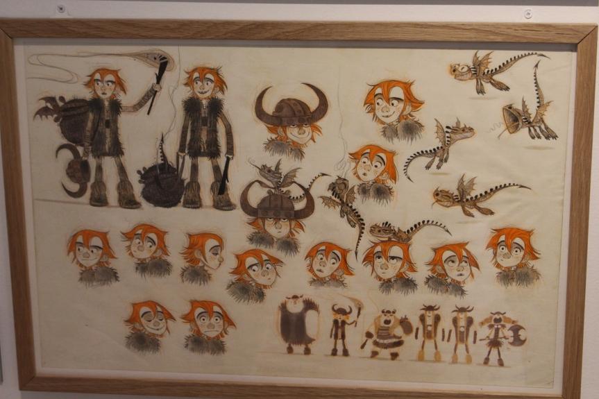L'épopée artistique de la trilogie Dragons (Expositiontemporaire)