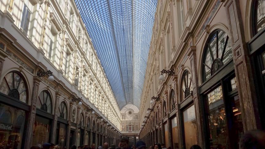Souvenir de Bruxelles : Galeries Royales Saint-Hubert