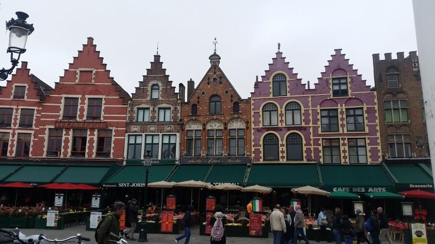 Souvenir de Bruges : La GrandPlace