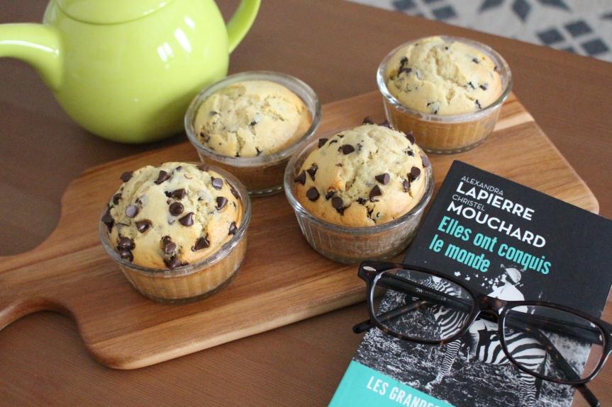 Recette – Muffins aux pépites dechocolat
