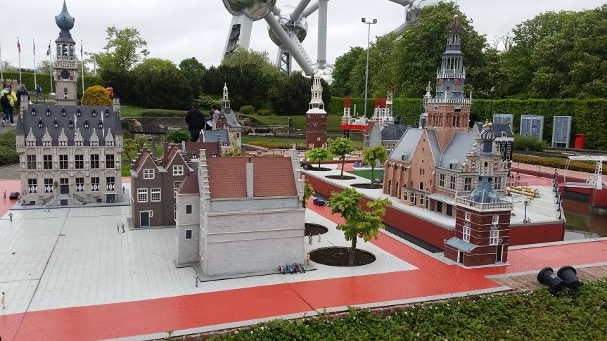 Souvenir de Bruxelles :Mini-Europe