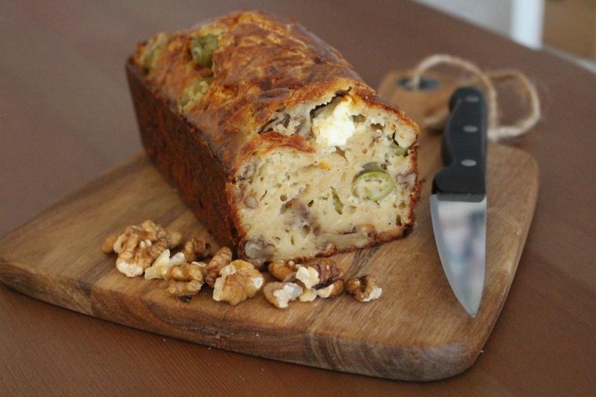 Recette – Cake salé végétarien