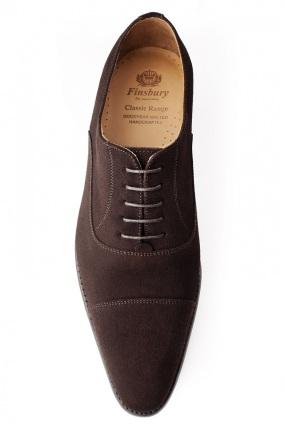 chaussure-consul-veau-velours-marron-richelieu