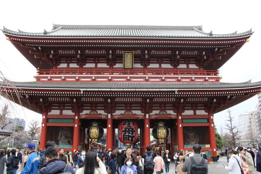 Tokyo : Temple Senso-ji