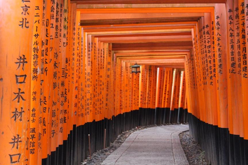Kyoto : Le sanctuaire Fushimi Inari Taisha