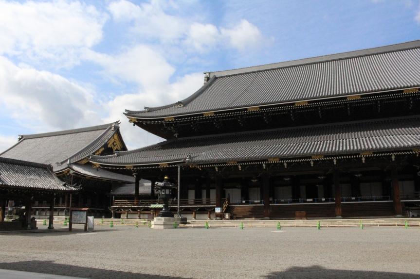 Kyoto : le temple Higashi Hongan-ji