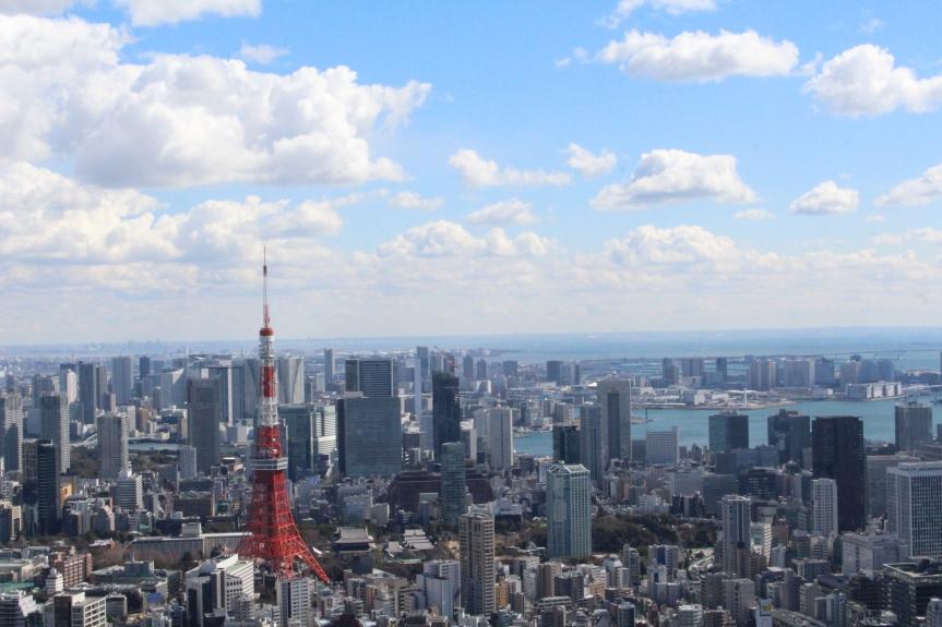 Tokyo : Roppongi Hills MoriTower