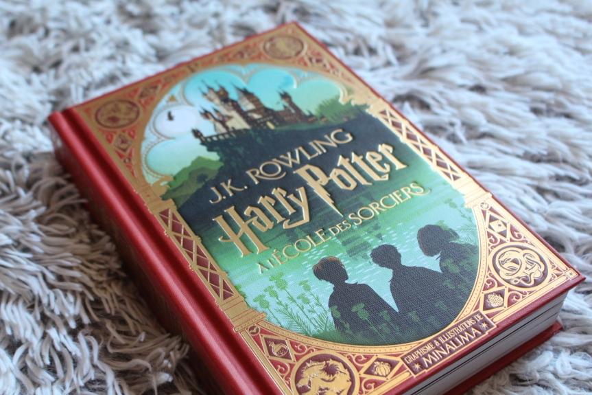 La nouvelle édition d'Harry Potter illustrée parMINALIMA