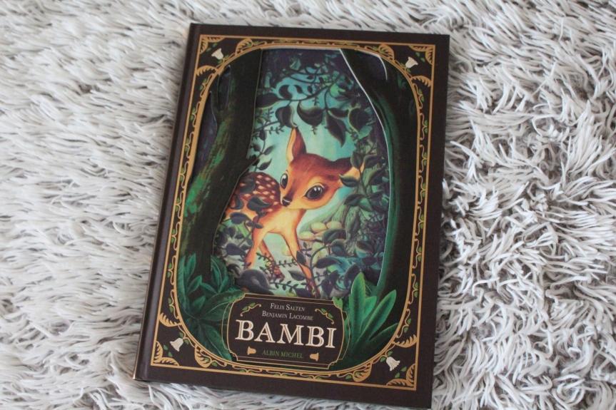 La nouvelle édition de Bambi illustrée par BenjaminLacombe