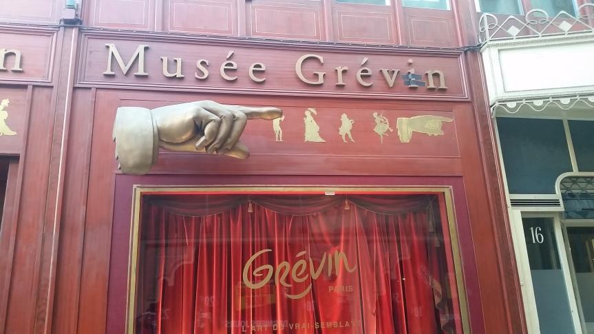 Souvenir : Le MuséeGrévin